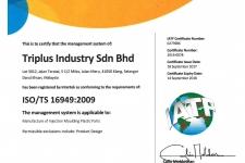 ISO/ TS 16949:2009 | IATF Cert. No : 0273986