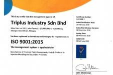 ISO 9001:2015 Cert. No: Q103888-2