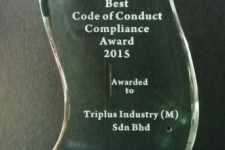 2015 - Q VALUE ADD SDN BHD - Best Code of Conduct Compliance Award