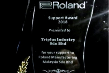 2018 - ROLAND - Support Award