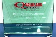 Q VALUE ADD SDN BHD - Best Quality Award (2016)